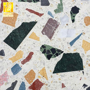 Multi-color cafe cement terrazzo vloer en wandtegels