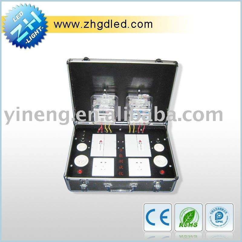 LED Energy Saving Test Box for testing led power voltage and wattage(ZH-CSX-11)