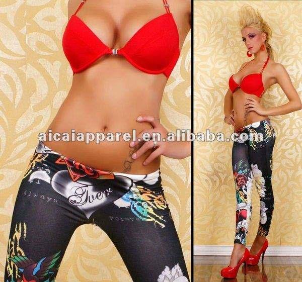 Wholesale Hot Sale printed Leggins Women Sexy leggins