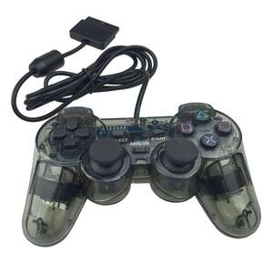 transparent black gamepad for ps2 controller