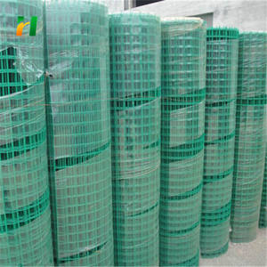 1/2 × 1/2 welded wire mesh/pvc coated welded wire mesh 롤 대 한 \ % sale