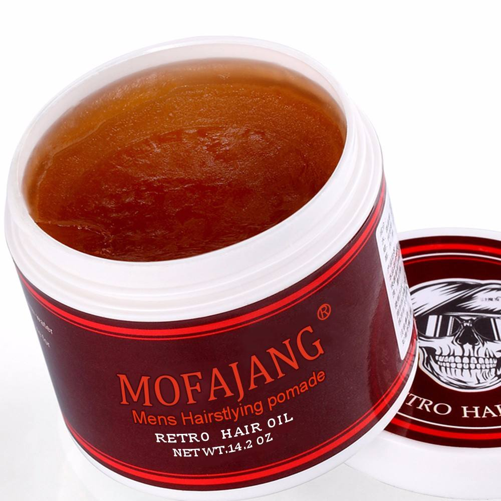 Pomade water based hair gel OEM styling hair wax private label