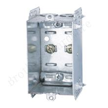 cETL Certificate Galvanized Steel Electrical 1 Gang metal Box