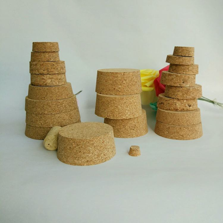 Low MOQ stocked candle jars wine bottle wooden lids corks stopper