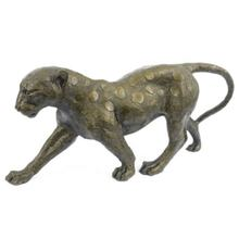 Lifesize Art Decorative Bronze Cheetah Statue