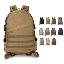 Climbing Mountaineering Outdoor Sport Travel Camouflage Oxford Rucksack Molle Bag 3D Military Tactical Backpack