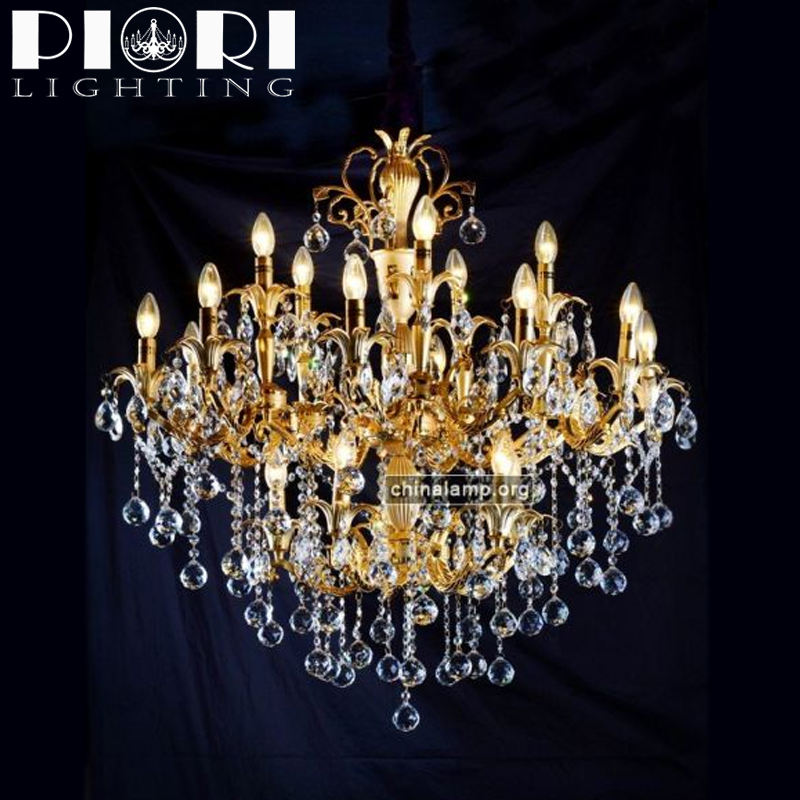 Traditional hotel decoration Asfour crystal chandelier light for hotel