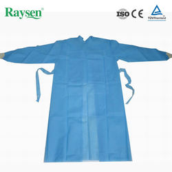 Disposable sterile surgical disposable blouse