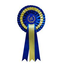 Custom Design Large Ribbon Rosette For Horse Show