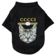 wholesale stock cat head spring, summer,and fall home clothes for dog T shirt clothes for pets