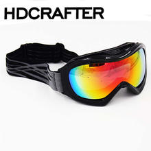 Fashion sunglasses ski goggles men and women spherical double anti-fog ski goggles cocker myopia professional 2020