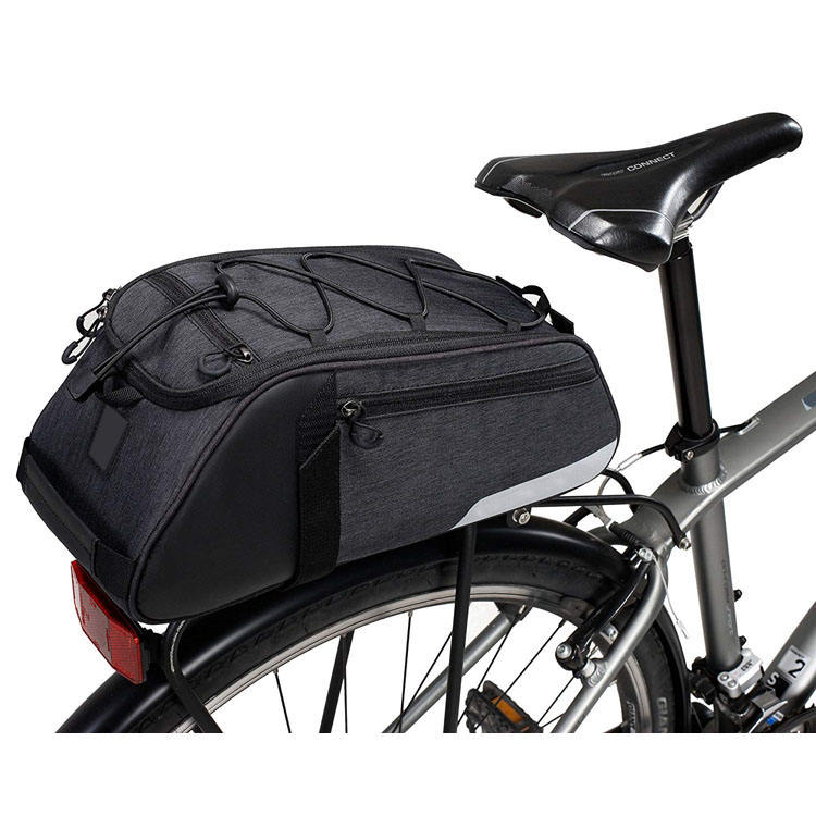 Moda Acessórios Da Bicicleta Saddle Bag Ciclismo Double Side Banco Traseiro Rack Cauda Trunk Bag Pannier