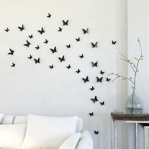 Removable Fashion Fixpix Wall Sticker Home Deco Butterfly 3D Wall Sticker