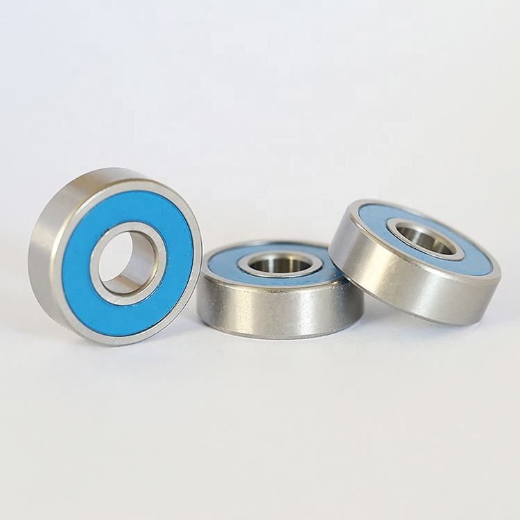 stainless steel R series R155 miniature deep groove ball inch bearing