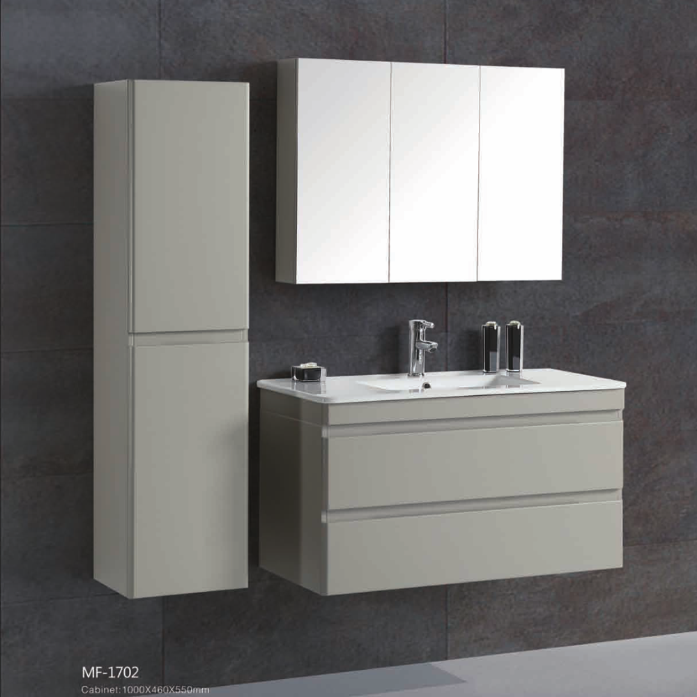 "36"" Wall Hung Bathroom Vanity Cabinets Simple Modern Luxury"