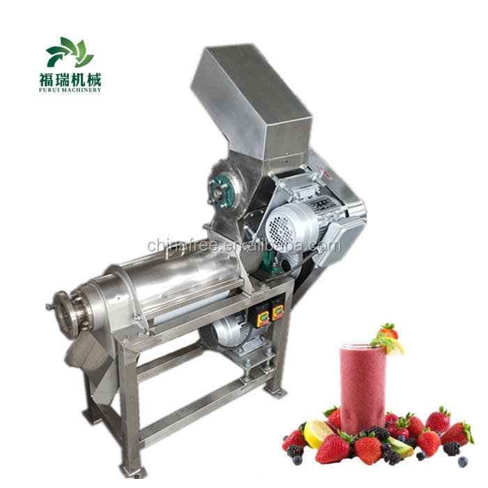 2019 de gingembre d'acier inoxydable machine d'extraction de jus/machine de presse-fruits avec certification CE