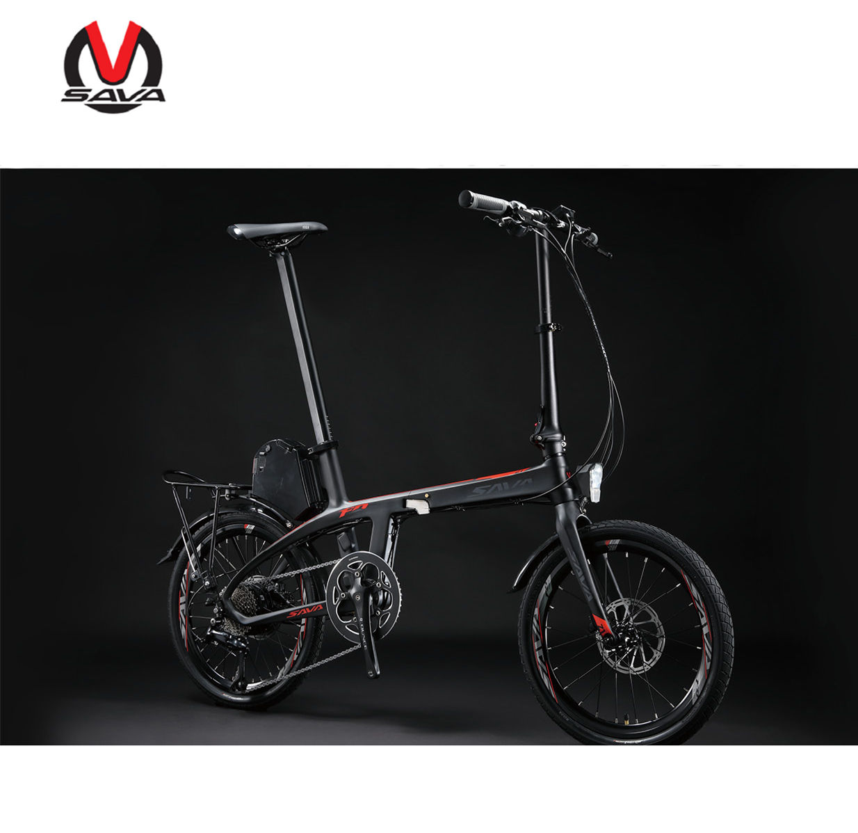 New style ebike rear drive 9 speed carbon electric bike light weight carbon folding electric bike