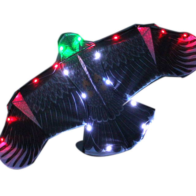 Led Kites Large LED Night Eagle Bird Kite Easy Flying Kite For Sale