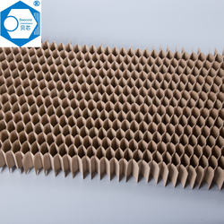 Fireproof materials for kitchen furniture with paper honeycomb core