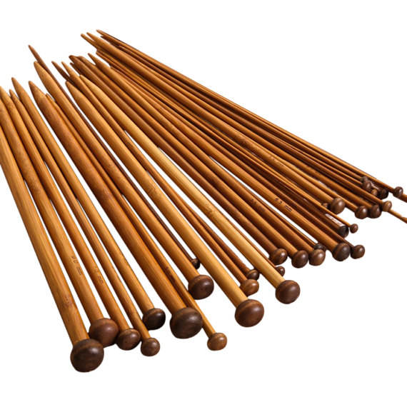 Charmkey knitting needle single point bamboo knitting needle