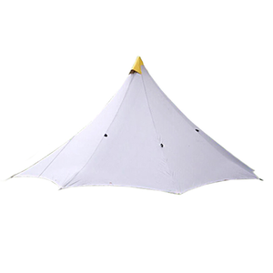 Neue Design Multi-zweck 6 Person Extra Raum Winter Pyramide Zelt Basis Camp