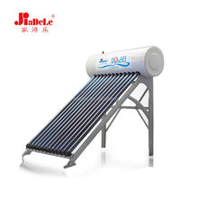 High Efficiency Design Solar Heat Pipe Hot Water Heater Roof System