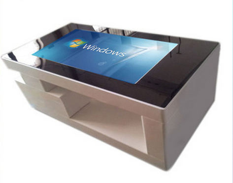 new design 32'' interactive touch table for office room with IR touch