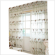 High quality The gauze sheer curtain with butterfly design