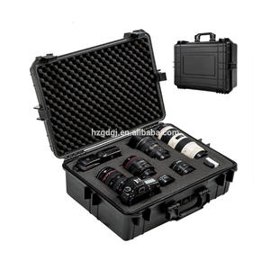 GD139 PP plastic waterproof hard case outdoor carrying protective box equipment camera case with foam