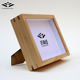 China manufactured wooden deep shadow box 5x7 Ash wood photo frame stand