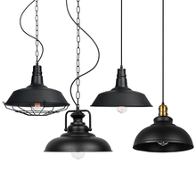 indoor hanging pendant lighting pendant lanparas de  commercial and communist shop industrial led lamp for hanging