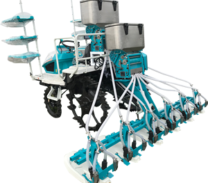 Precise pneumatic paddy planter rice seeder seeding planting machine