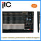 ITC 24 Channel Pro Mixing Console with SMT technology for DJ Sound System equipments