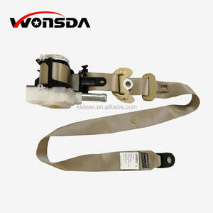 Hot selling Retractable Safety Belt 3 point Auto Car Pretensioner Seat Belt for Corolla 2014