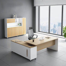 Modern executive table luxury chair office furniture wooden office desk furniture