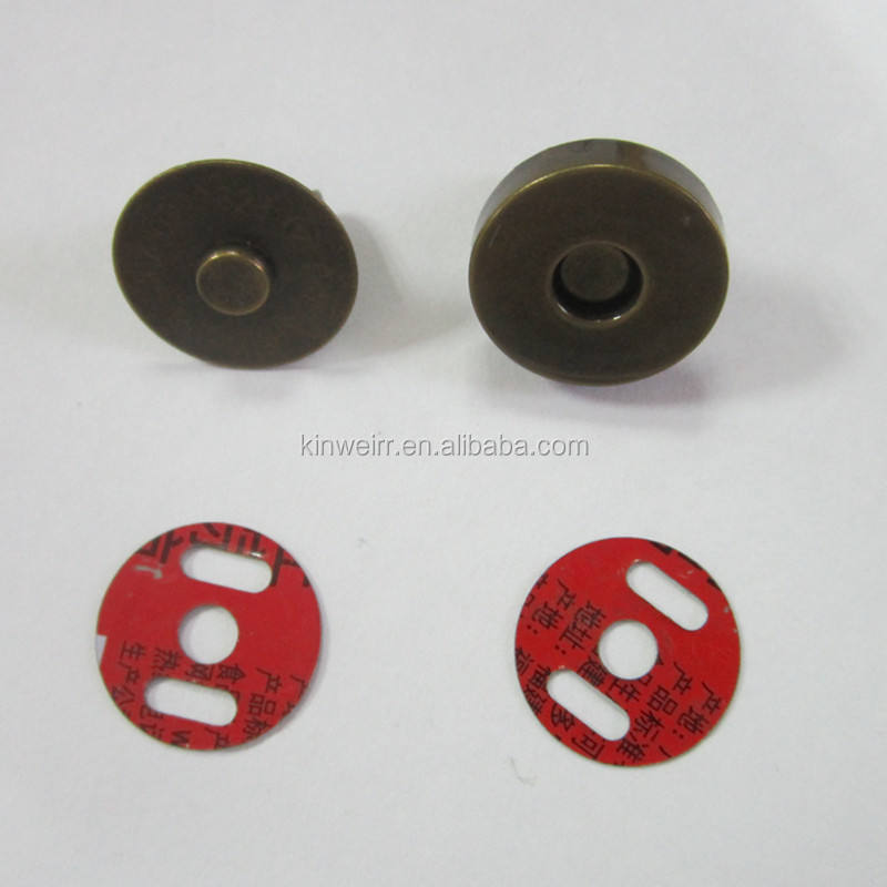 Wholesale 18mm magnet button for handbag with high quality