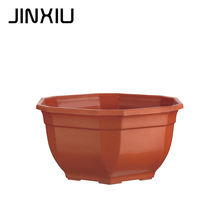 recycled plastic hexagon shape bonsai pot bosai planter