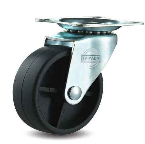 High Quality Black Pp Caster Wheel For Furniture