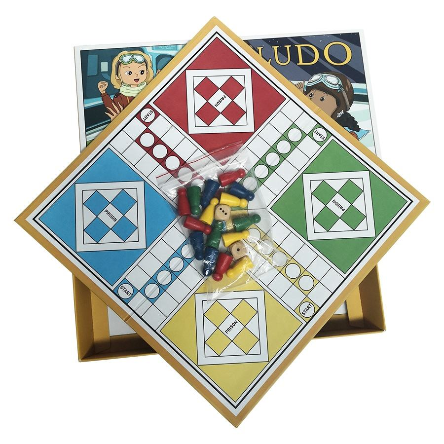 Hot Wholesale Educational Animal Ludo Chess Board Game Ludo Game Paper Size