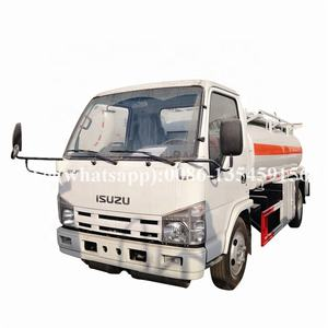 Mini 2000 liters 4*2 fuel tanker truck mobile fuel truck mobile fuel dispenser truck for sale