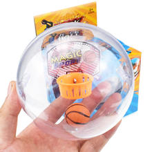 YY0501Mini Handheld Wrist and Palm Exercise Basketball Shooting Game Toys Mini basketball  For Kids