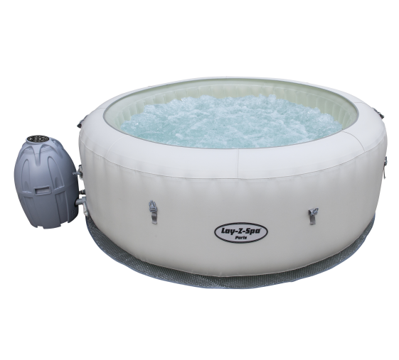 Bestway 54148 Lay z spa Paris inflatable and portable softub spa led