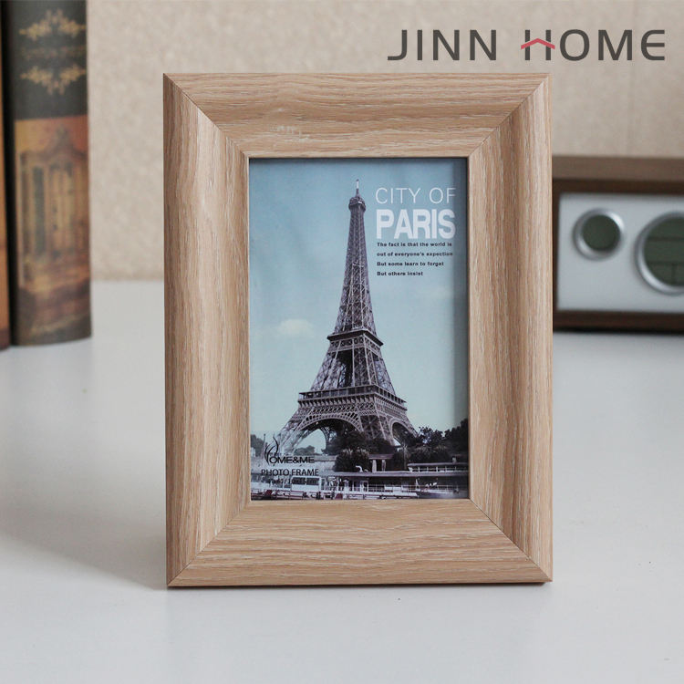 Jinn Home 4x6 Burlywood Photo Frame Horizontal/Vertical Vintage Family Picture Frame