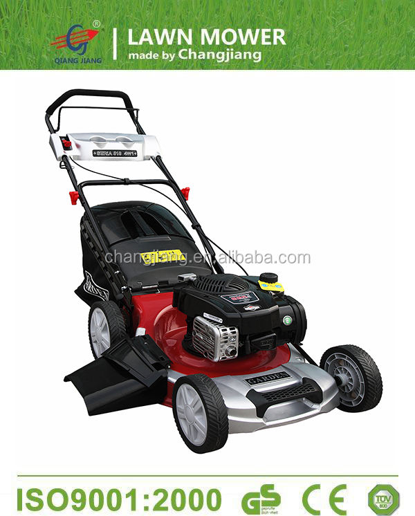 New model garden tools self propelled lawn mower CJ20GT4IN1B625 with bs engine 150cc
