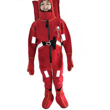 marine lifesaving equipment buoyant immersion suit