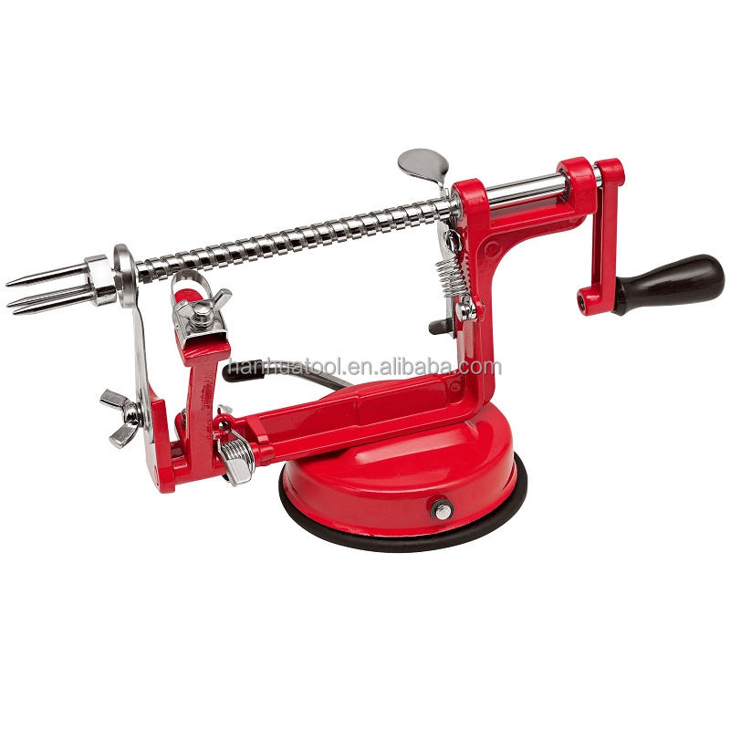 Home Multi Fruit Zester Slicing Machine 3 in one Apple Peeler Corer Slicer