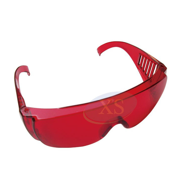 Dental Safety Red Goggle Glasses Eyes/' Protection When Using LED//UV Curing Light