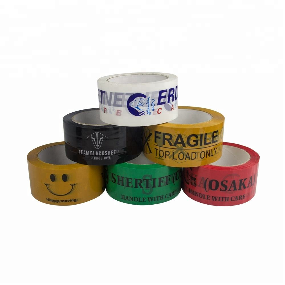 15 Years Factory Free Samples Strong Adhesive Custom Logo Printed Bopp Packing Tape