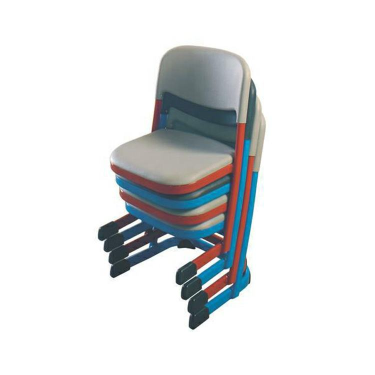 wholesale factory price comfortable classroom plastic seat and back school chairs with best price