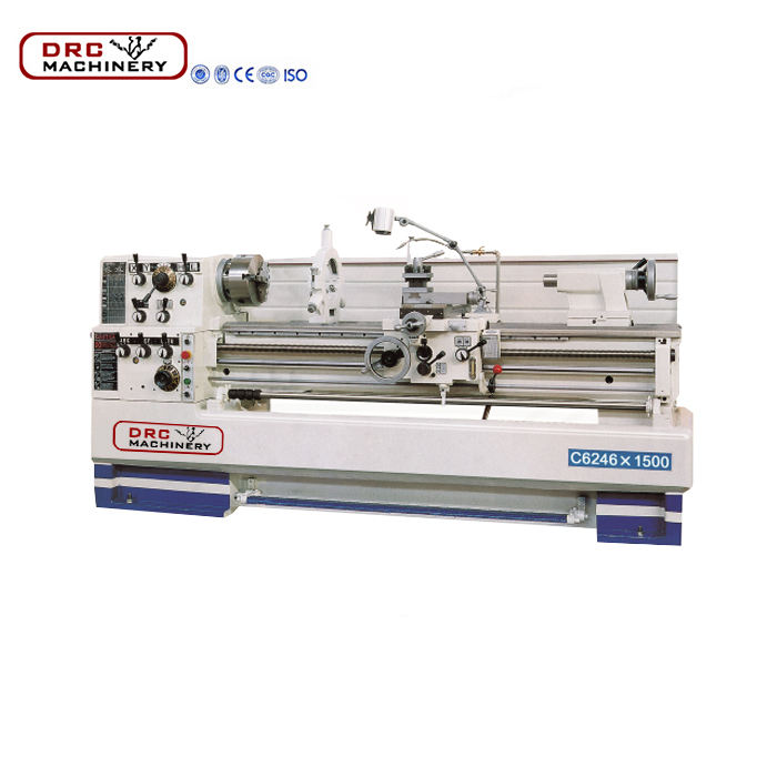 High rigidity engine lathe used for metal cutting gap-bed lathe machine